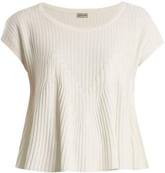 Rachel Comey Reverb flared-hem ribbed-knit top
