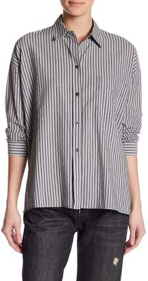 Vince Striped Boxy Shirt