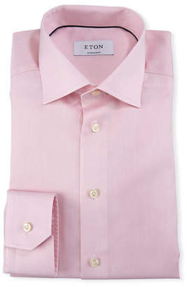 Eton Men's Contemporary Fit Twill Dress Shirt
