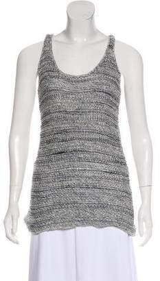 Vince Sheer Knit Sleeveless Top