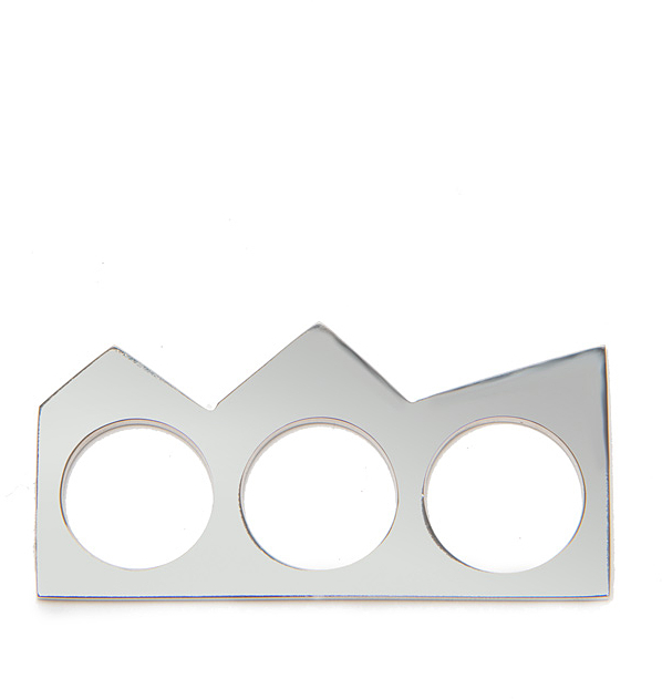 Kelly Wearstler Branzi Metal Triple Ring
