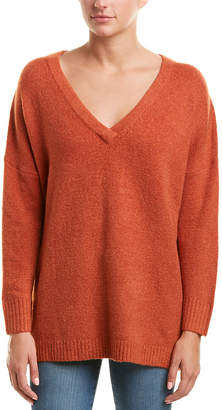 French Connection V-Neck Wool-Blend Sweater
