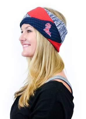 Zoozatz Women's ZooZatz Ole Miss Rebels Criss-Cross Headband