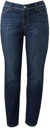 Vera Wang Plus Size Simply Vera Skinny Jeans