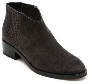 Dolce Vita Women's Towne Almond Toe Suede Low-Heel Booties