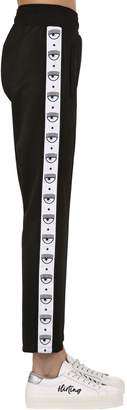 Chiara Ferragni Eye Side Band Track Pants