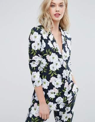 Oasis Floral Print Blazer $92 thestylecure.com