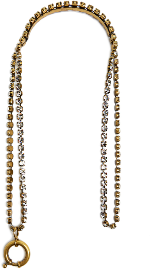 Balenciaga  BALENCIAGA Crystal-embellished necklace