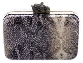 House Of Harlow Embossed Marley Clutch