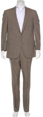 Lanvin Striped Wool Suit