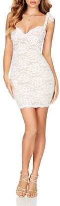 Nookie Romance Lace Mini Dress