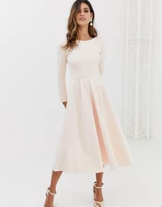 Closet London Closet full pleated skirt dress