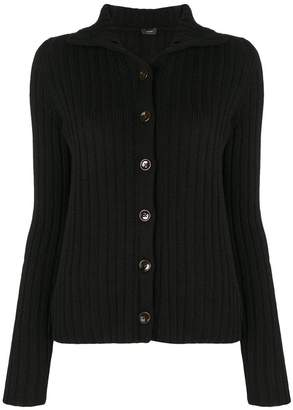 Joseph cutaway collar cardigan