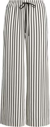 Ralph Lauren Striped Twill Wide-Leg Pant