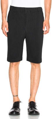Issey Miyake Homme Plisse Pleated Shorts