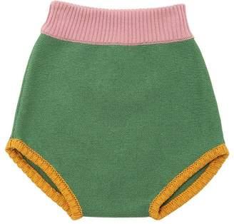 Color Block Cotton Knit Diaper Cover