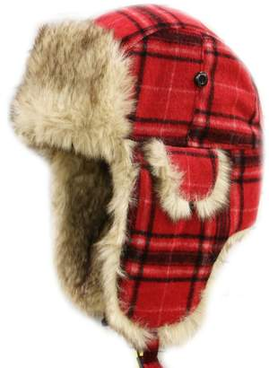 Hunter City W680 Unisex Wool Plaid Trapper Hat Multi Colors