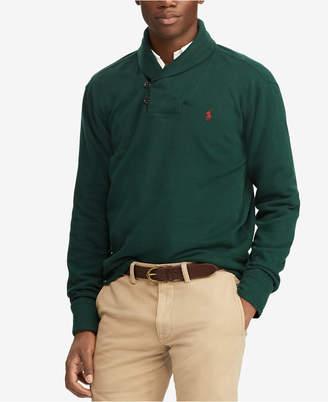 Polo Ralph Lauren Men's Estate-Rib Shawl Pullover
