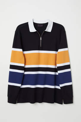 H&M Shirt with Collar - Black