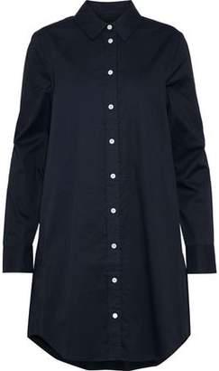 Equipment Carmine Cotton-poplin Mini Shirt Dress