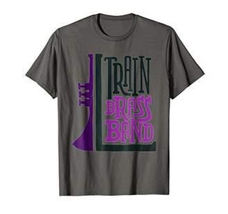 Train t shirt Brass Band