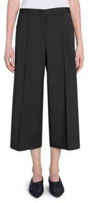 Jil Sander Farran Cropped Wool Trousers