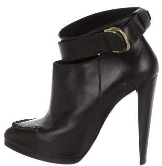 3.1 Phillip Lim Leather Pointed-Toe Booties