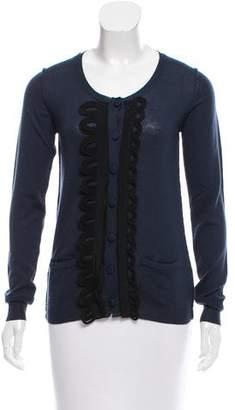 Chloé Wool Button-Up Cardigan