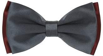 Barneys New York Men's Double-Layered Satin Bow Tie