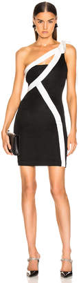 Galvan Laced Mini Dress