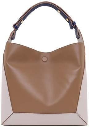 Marni Frame Color-block Smooth-leather Shoulder Bag