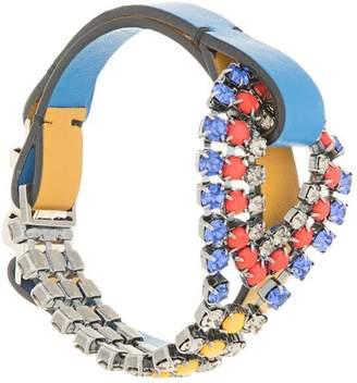 Marni embellished buckle bracelet