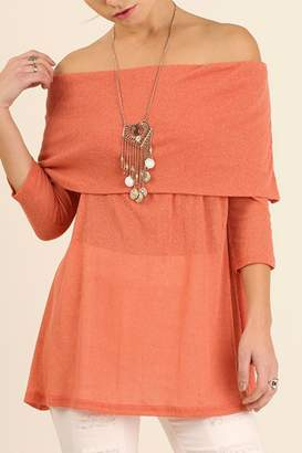 Umgee USA Off Shoulder Tunic