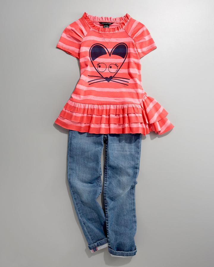 Little Marc Jacobs Vintage Pocket Jeans, 2-6 Youth