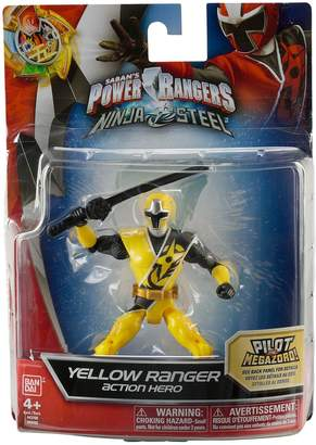 Power Rangers Ninja Steel 12.5cm Yellow Ranger