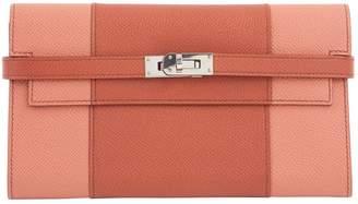 Hermes Kelly Orange Leather Purses, wallets & cases