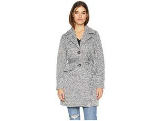 Steve Madden Fleece Trench Women's Coat