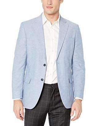 Nautica Men's Chambray Cotton Sportcoat Blazer