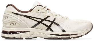 Asics nude Gel Nimbus 20 lace-up sneakers