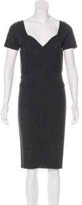 Blumarine Midi Sheath Dress