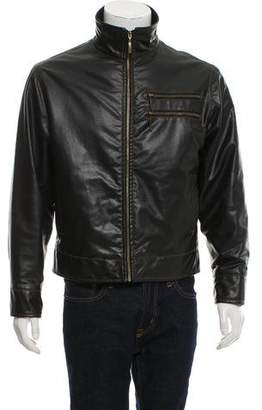 Diesel Funnel Neck Zip-Up Jacket