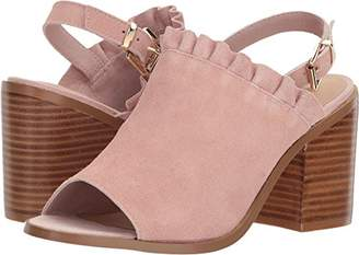 Sbicca Women's Frilly Heeled Sandal