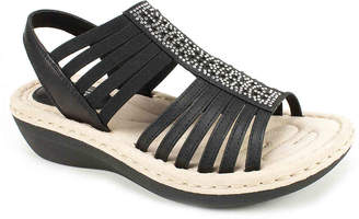 White Mountain Cliffs by Cera Wedge Sandal - Women's
