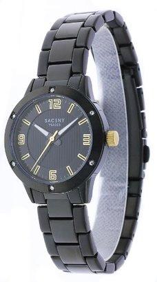 Y'saccs (イザック) - [サクスニー イザック]SACCSNY Y'SACCS 腕時計 ブラックフェイス×ブラックベルト SY-15060B-BKG レディース