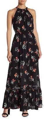 Gilli Floral Halter Maxi Dress