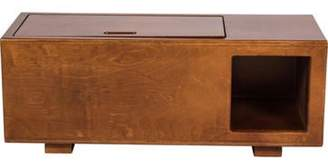 Mid-Century Modern-Style Media Cabinet Brown Mid-Century Modern-Style Media Cabinet