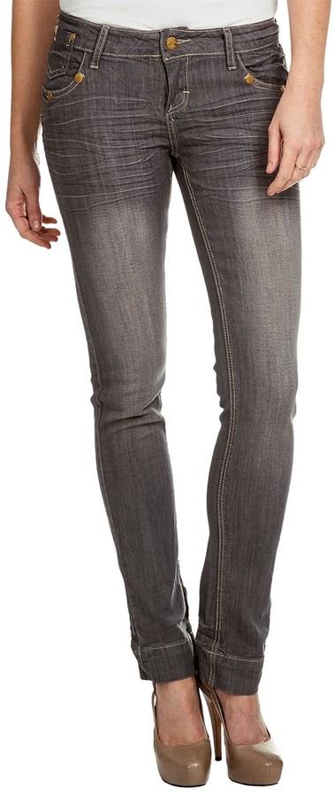 Sand Blast 702 Vegas Straight-Leg Denim Jeans - Stretch (For Women)