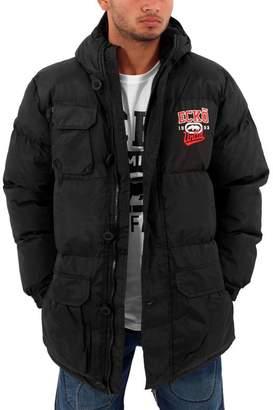 Ecko Unlimited Mens Boys Berlinetta Parka Puffer Padded Hooded Warm Winter Jacket Hip Hop (M)