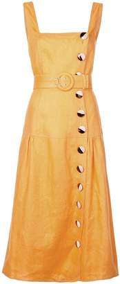 Nicholas button Pinafore dress