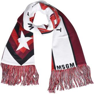 MSGM Mixed Media Star Scarf